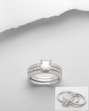 Zasnubni Prsteny Se Zirkonem