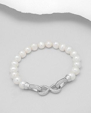 38756bbd0 perlové   Stříbrné šperky od Lenky